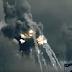 El Estado Islámico recrea la destrucción de la torre  Eiffel