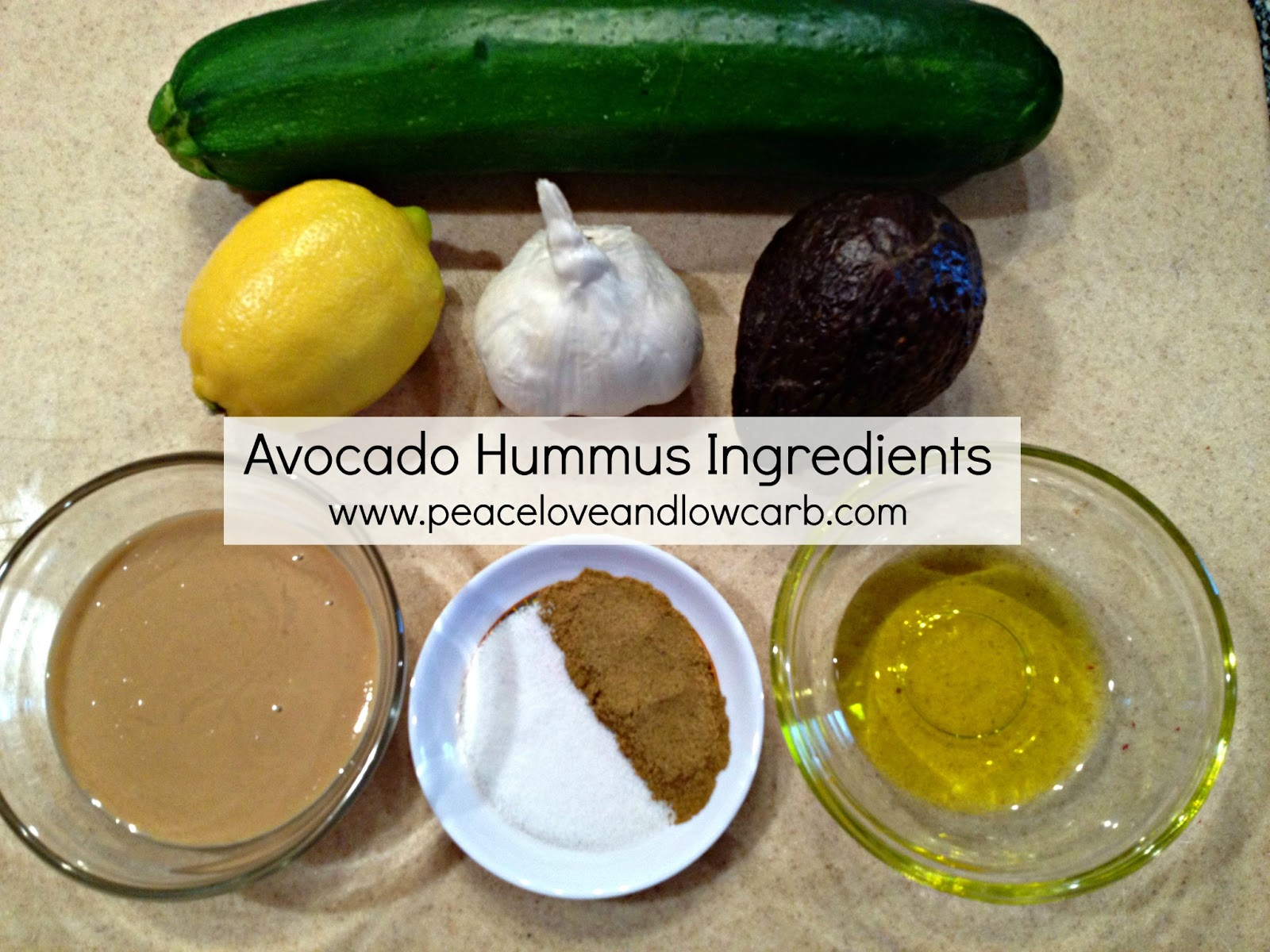 Avocado Hummus – (Low Carb, Paleo, Gluten-Free, Dairy Free)
