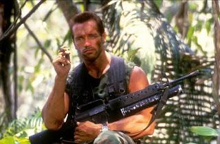 Schwarzenegger protagonizando Depredador