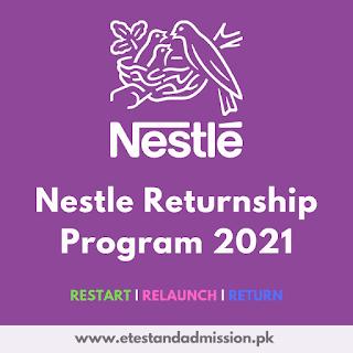 Nestle Returnship Program 2021