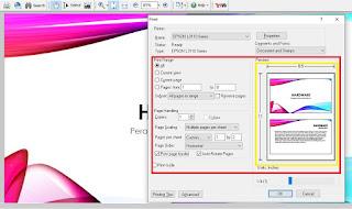 print PPT 2 Slide Full Kertas