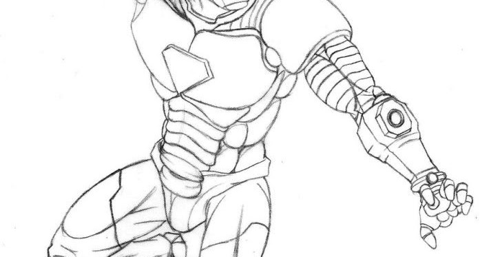 Kids Page: - Iron Man 3 Coloring Pages