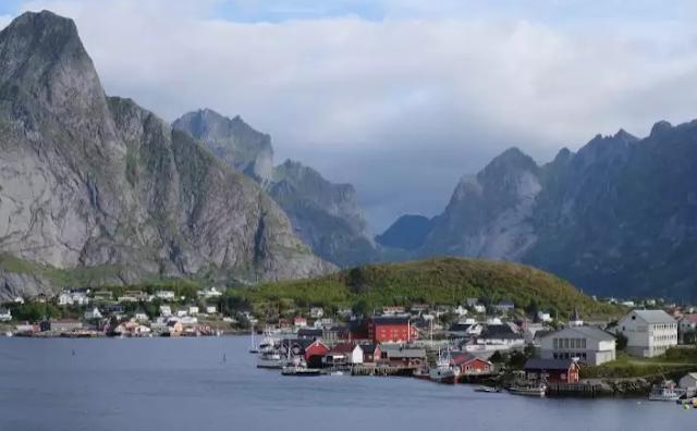 Lofoten Island Norway Top 10 World's Happiest Countries 2017