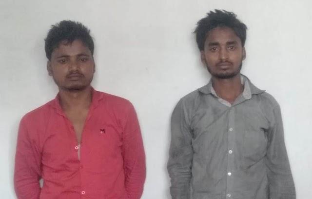 जीजा-साला कर रहे थे बेनीपट्टी में चोरी, पुलिस ने सामान के साथ दबोचा