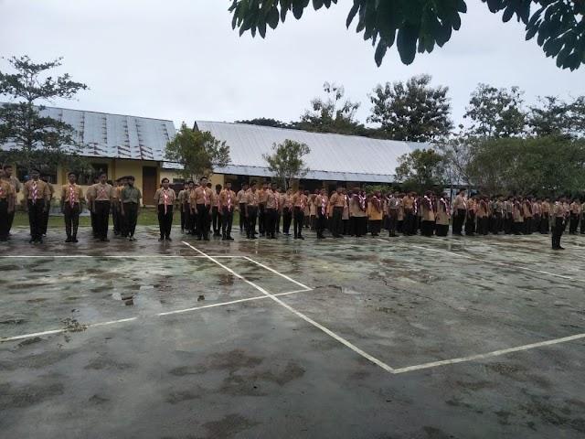 Siswa SMK Negeri 1 Lhoksukon Di Wajibkan Ikuti Pramuka