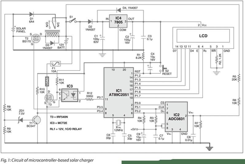 Circuit Designing & Firmware Development: Microcontroller