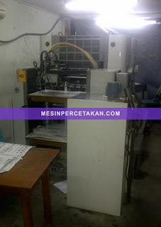 mesin percetakan Sakurai Oliver 258EP2