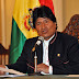 """""""Chile nos roba y nos demanda"""" :Evo Morales"""