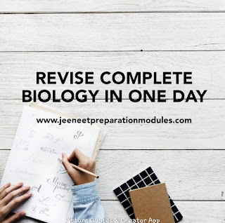 biology revision neet crash course