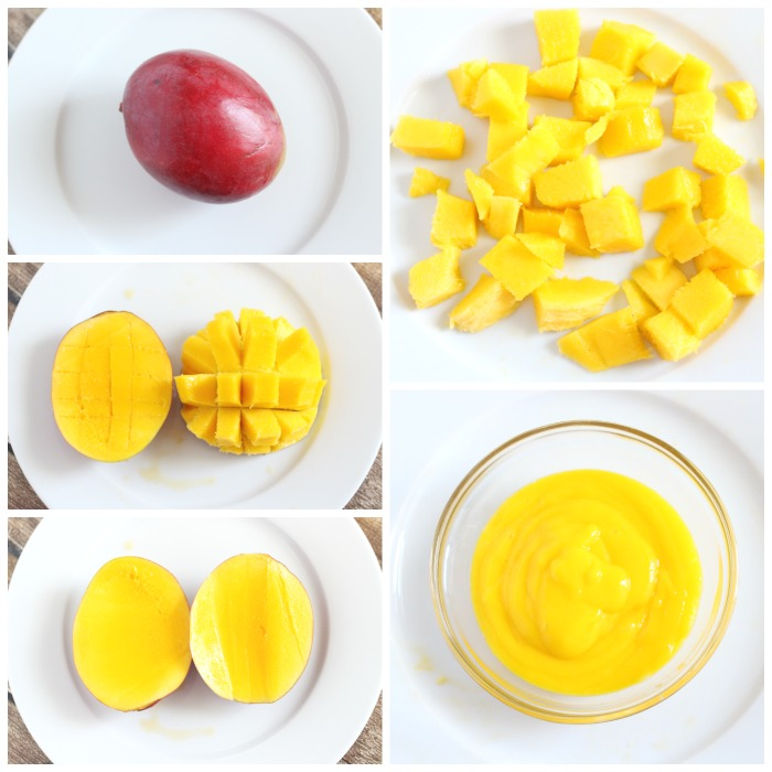 Vanilla Mango Tropical Smoothie Recipe