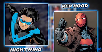 dc all access nightwing red hood