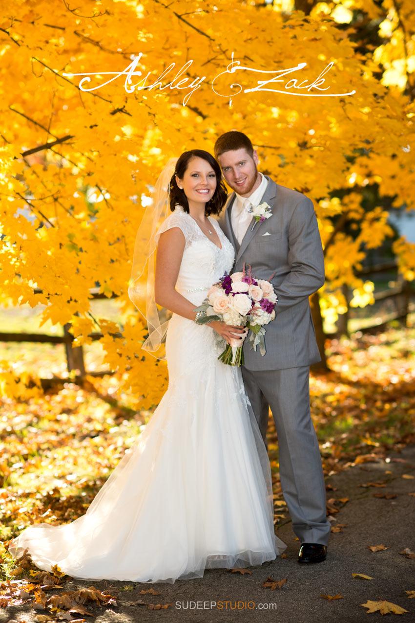 Ann Arbor Fall Wedding Photography - Sudeep Studio.com Ann Arbor Photographer