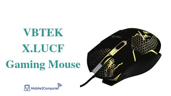 VBTEK X.LUC Best Budget gaming Mouse (2019)