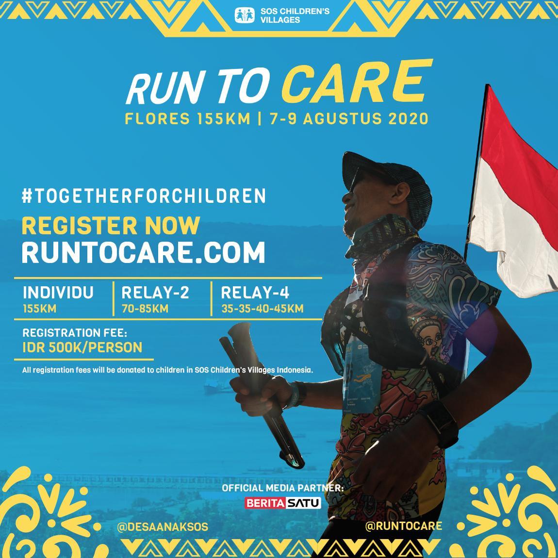 Run to Care - Flores • 2020