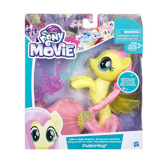 My Little Pony Movie Brushable - Fluttershy Sea Pony