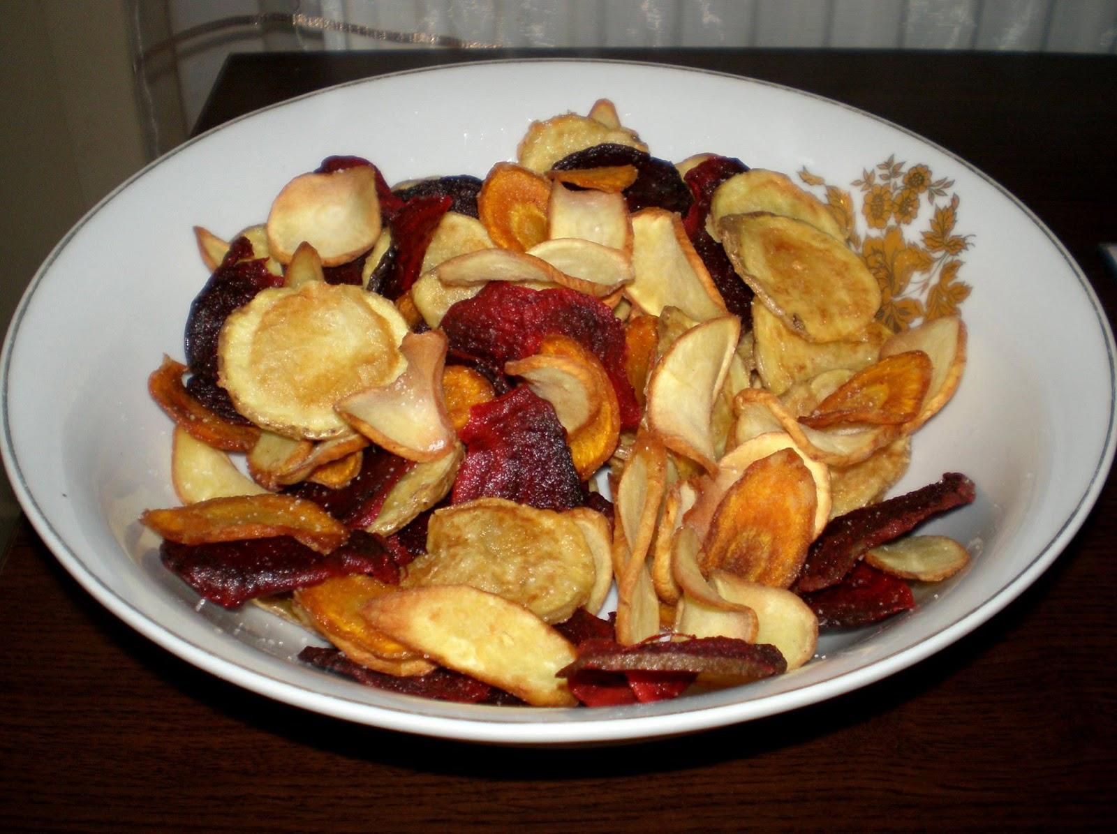 Chipsuri de legume