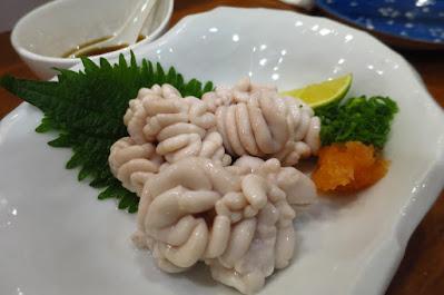 Keria Japanese Restaurant, shirako ponzu