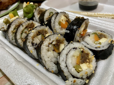 Kimbap with Cheese - Wahmderous Moments