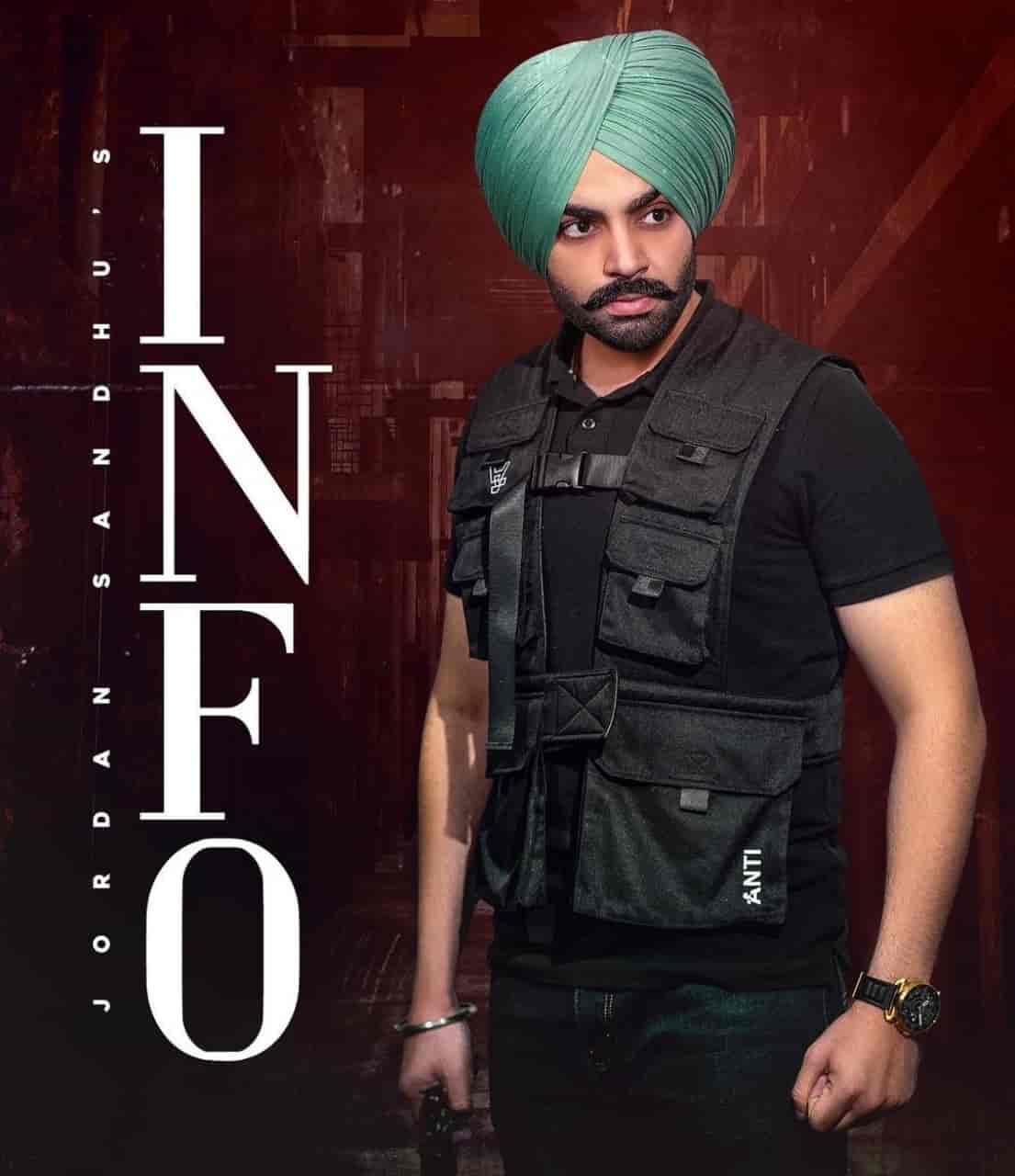 Info Punjabi Song Image Features Jordan Sandhu and Gurlez Akhtar