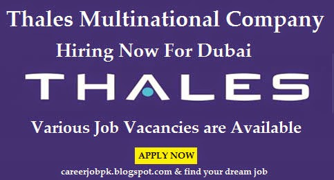 Latest Jobs in Thales Group UAE
