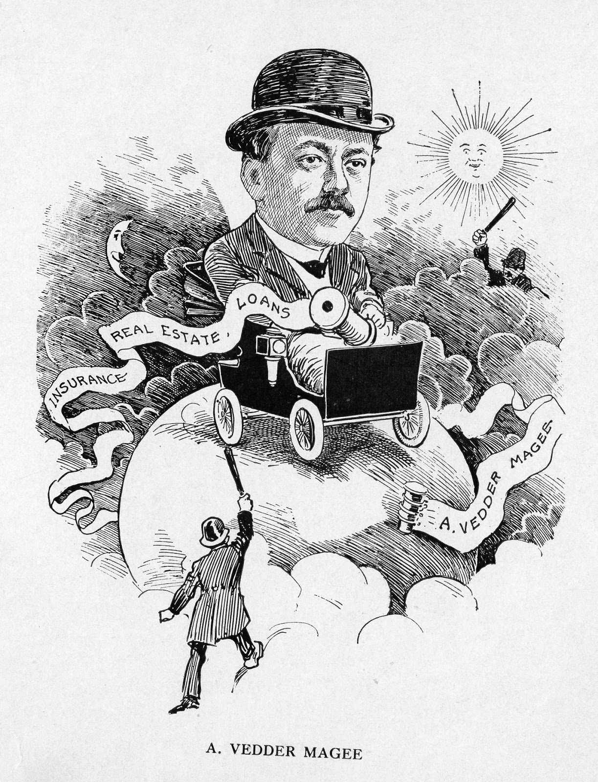 Grems-Doolittle Library Collections Blog: Caricatures of