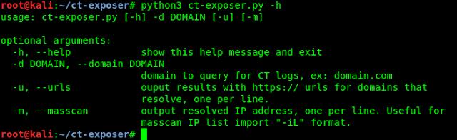 ct exposer help