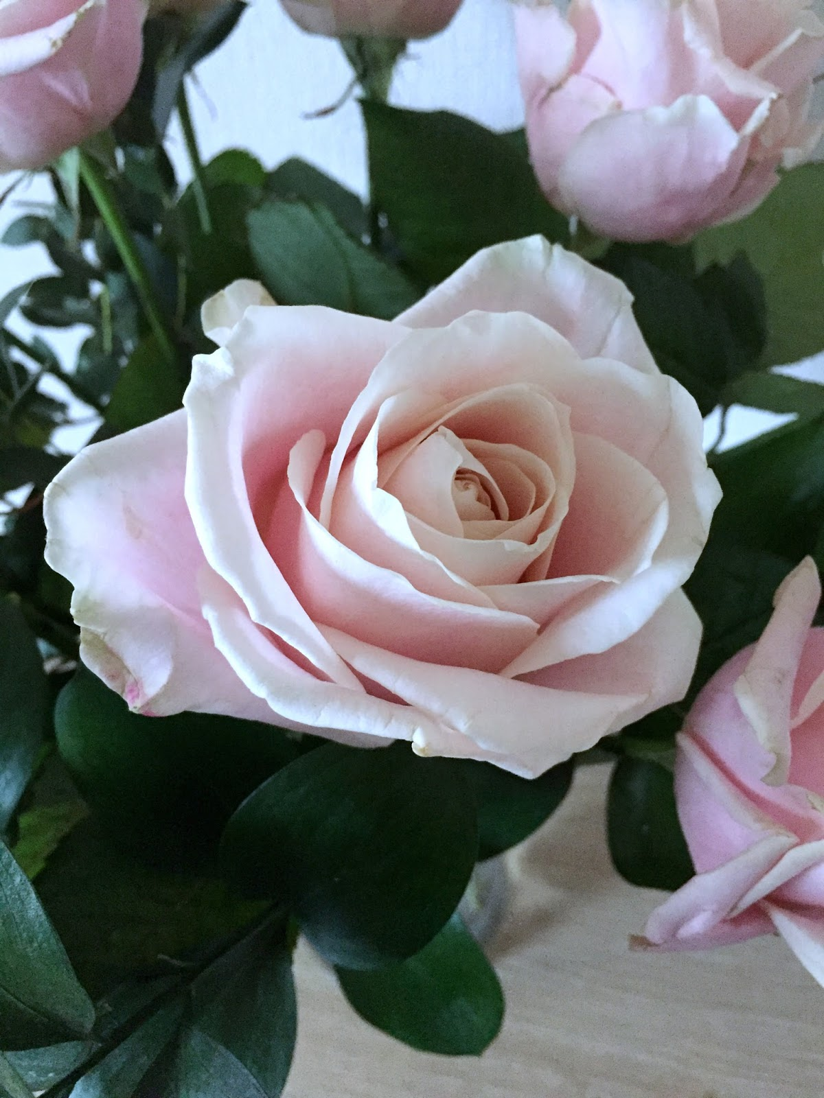 Get 33 off mothers day flowers with blossoming gifts mammaful there were 11 large pastel pink roses in my bouquet and some green ruscus too the bouquet was absolutely stunning roses are one of my favourite flowers buycottarizona Choice Image