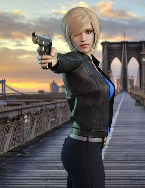 Manhattan Detective for Genesis 8 Female