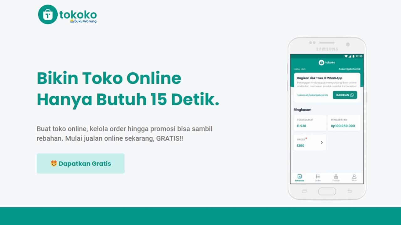 TOKOKO Membantu UMKM Buat Toko Online Gratis, Mudah, dan Cepat