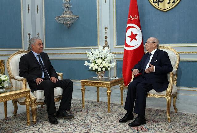 Ameur Mehrezi reçu par Beji Caïd Essebsi