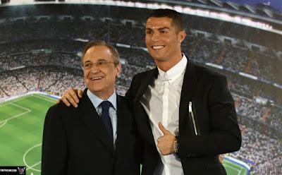 مفاجأة : فلورينتينو بيريز يعرض على رونالدو العودة مجددا إلى ريال مدريد