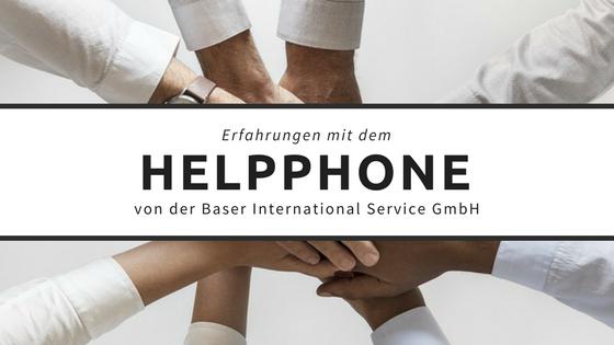 Titel: Erfahrungen mit dem HelpPhone der Baser International Service GmbH