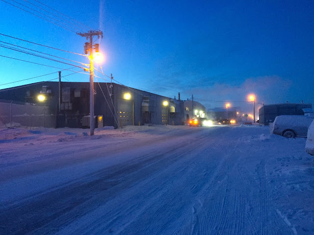 King Eider Inn to Airport - Barrow - Alaska (C) 2020 Supratim Sanyal