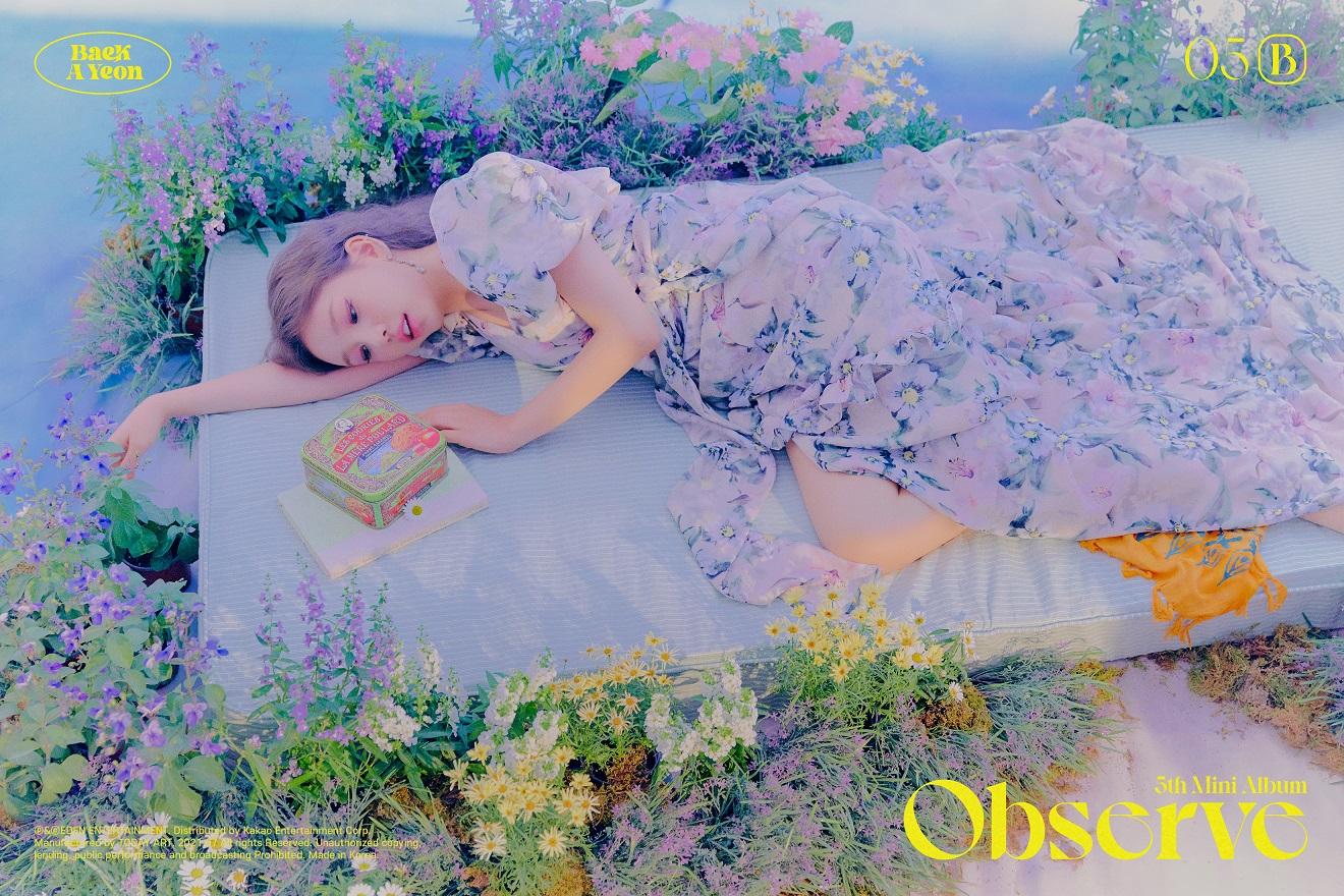 Baek A Yeon hace comeback con Observe, su quinto mini álbum