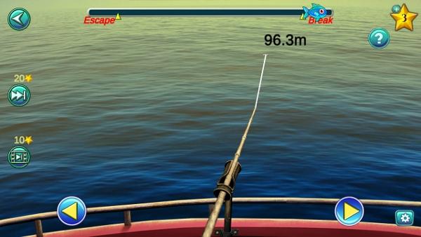 ловим и как рыбаки водим рыбку для того чтобы вытащить из водоема