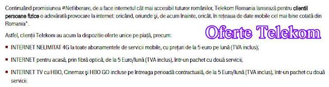 pareri forum abonamente freedom telekom 4 g nelimitat