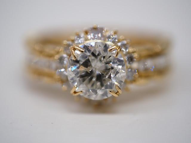 ダイヤモンドリングをお買い取りしました