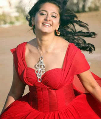 Anushka Shetty Hot in red dress 4k 5k HD Wallpapers