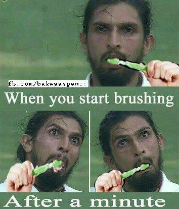 Ishant sharma funny face photoshop