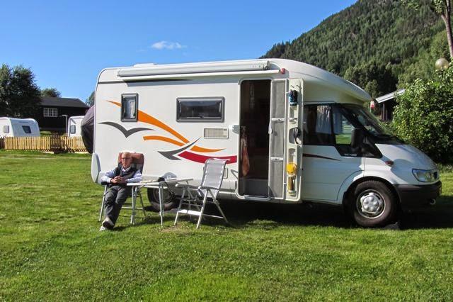 Met de camper in Noorwegen