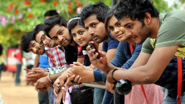young generation of India