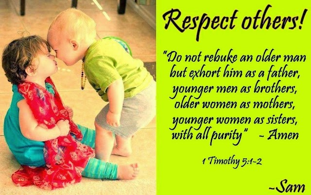 Respect Others Bible Verse