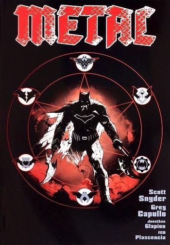 Noches Oscuras Metal es una obra maestra de Scott Snyder