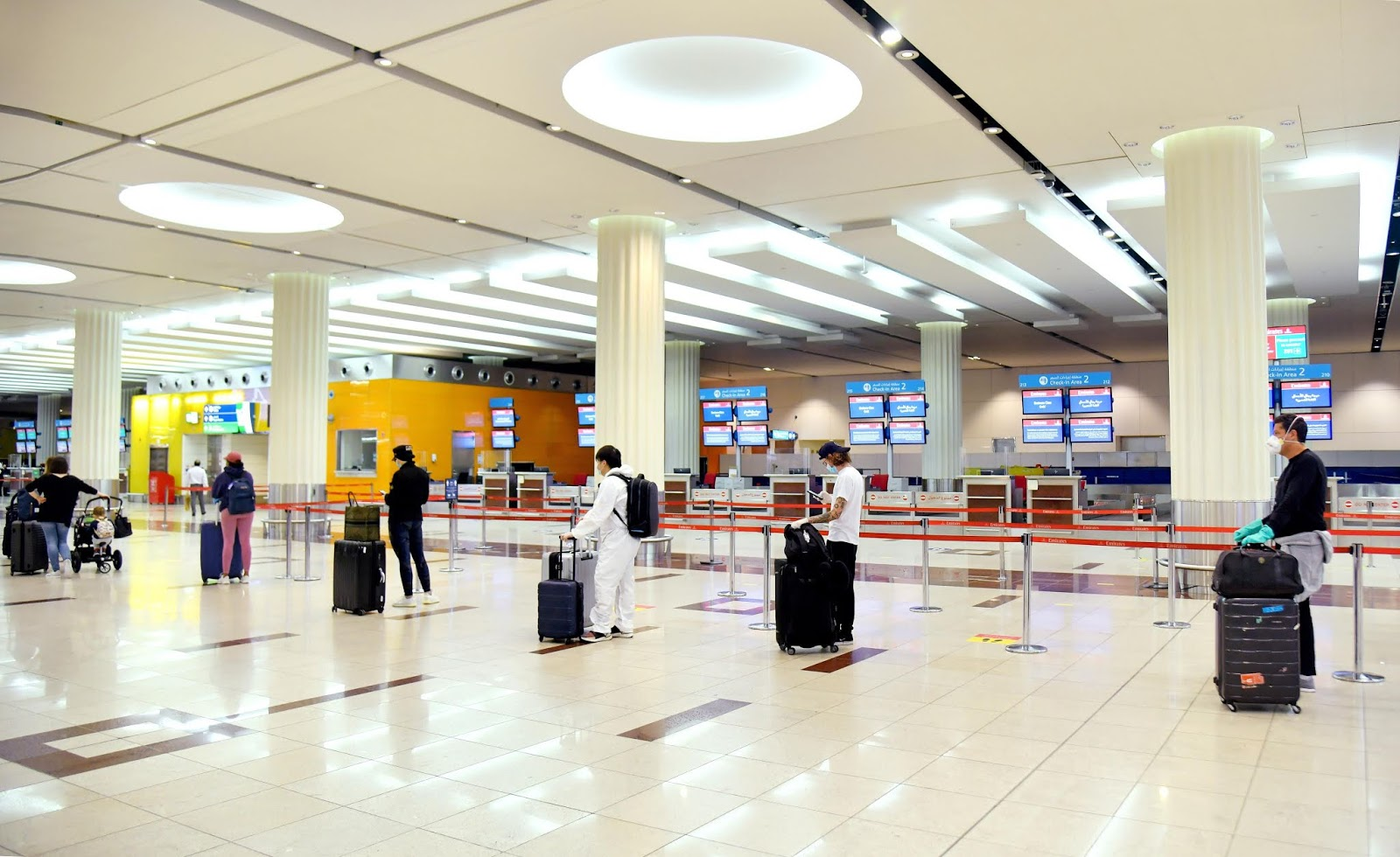 Emirates Flights To Remain Grounded Until At Least July