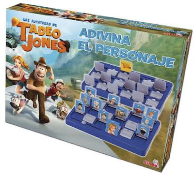 TOYS : JUGUETES - TADEO JONES  Adivina el personaje | Juego de Mesa  Producto Oficial | Simba 5014297  Comprar en Amazon España