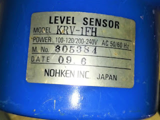 KRV-1FH NOHKEN INC. JAPAN KRV 1FH Level Sensor