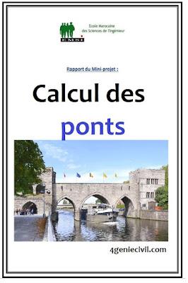 cours pont pdf , cours de calcul de pont génie civil, cours de ponts en béton armé pdf,