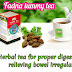 Herbal tea for proper digestion and relieving bowel irregularities tummy tea