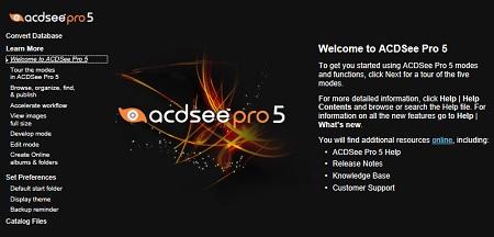 ACDSee Pro 5.3.168 full crack ดาวน์โหลดฟรี