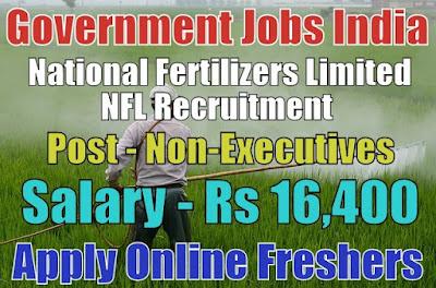 National Fertilizers Limited NFL Recruitment 2018